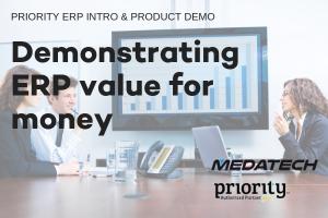 DEmonstrating ERP value for money